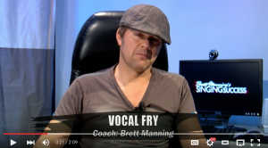 This is vocal Coach Brett Manning!