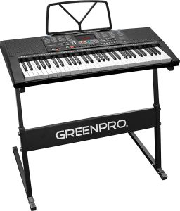 ​GreenPro 61 Key Portable Electronic Piano Keyboard as one of the best electronic keyboard