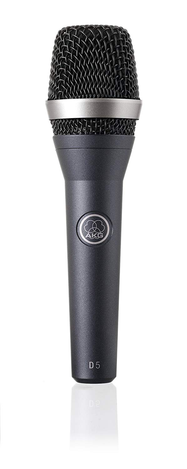 AKG D5 as one of The Best Microphones For Singing