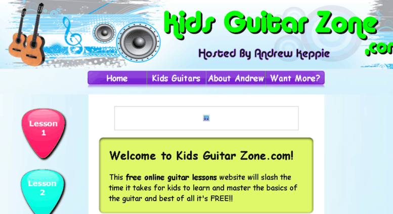 Kids Guitar Zone as one of the best guitar lessons for kids