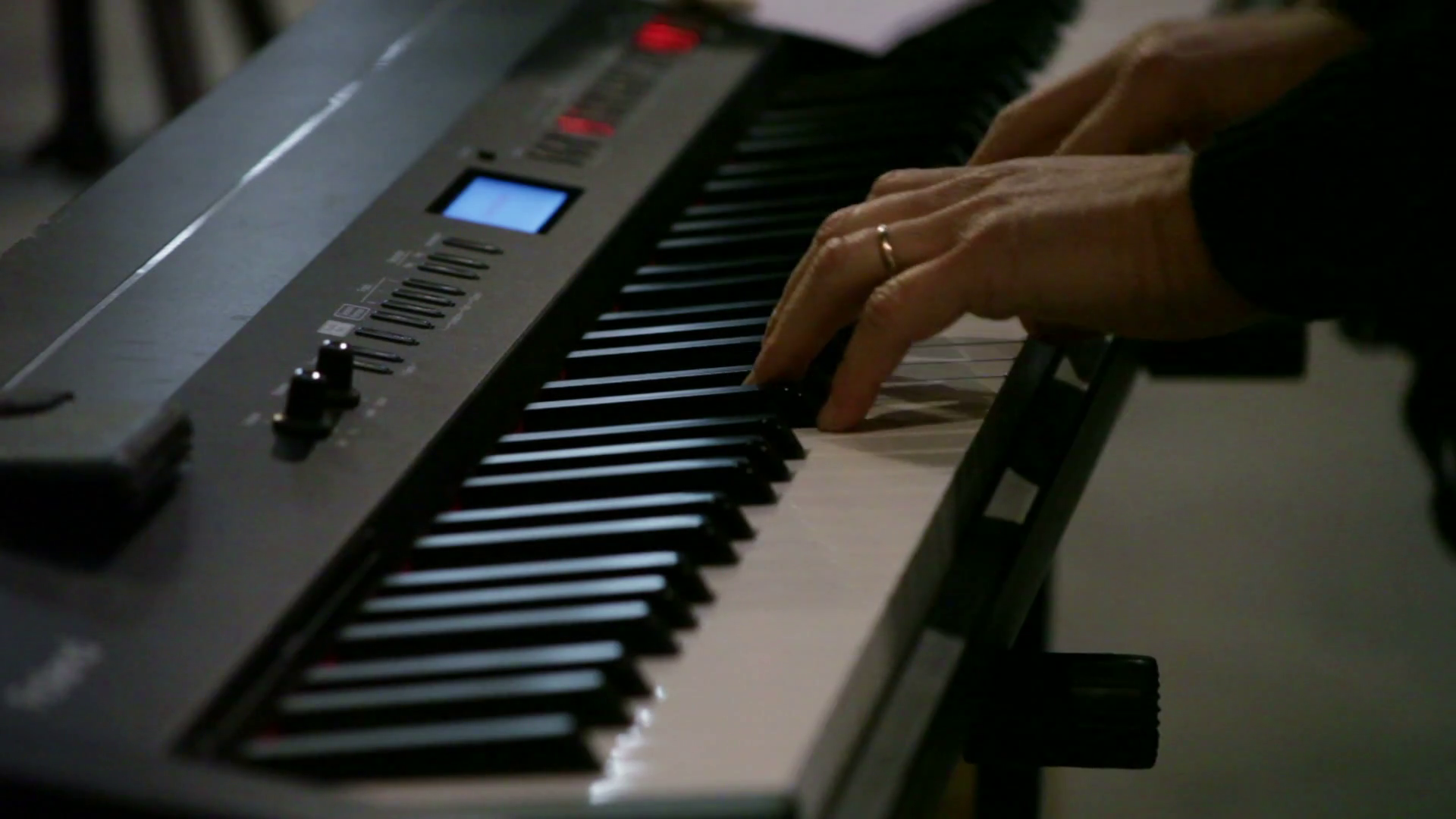 Playing Williams Legato 88 Key Digital Piano