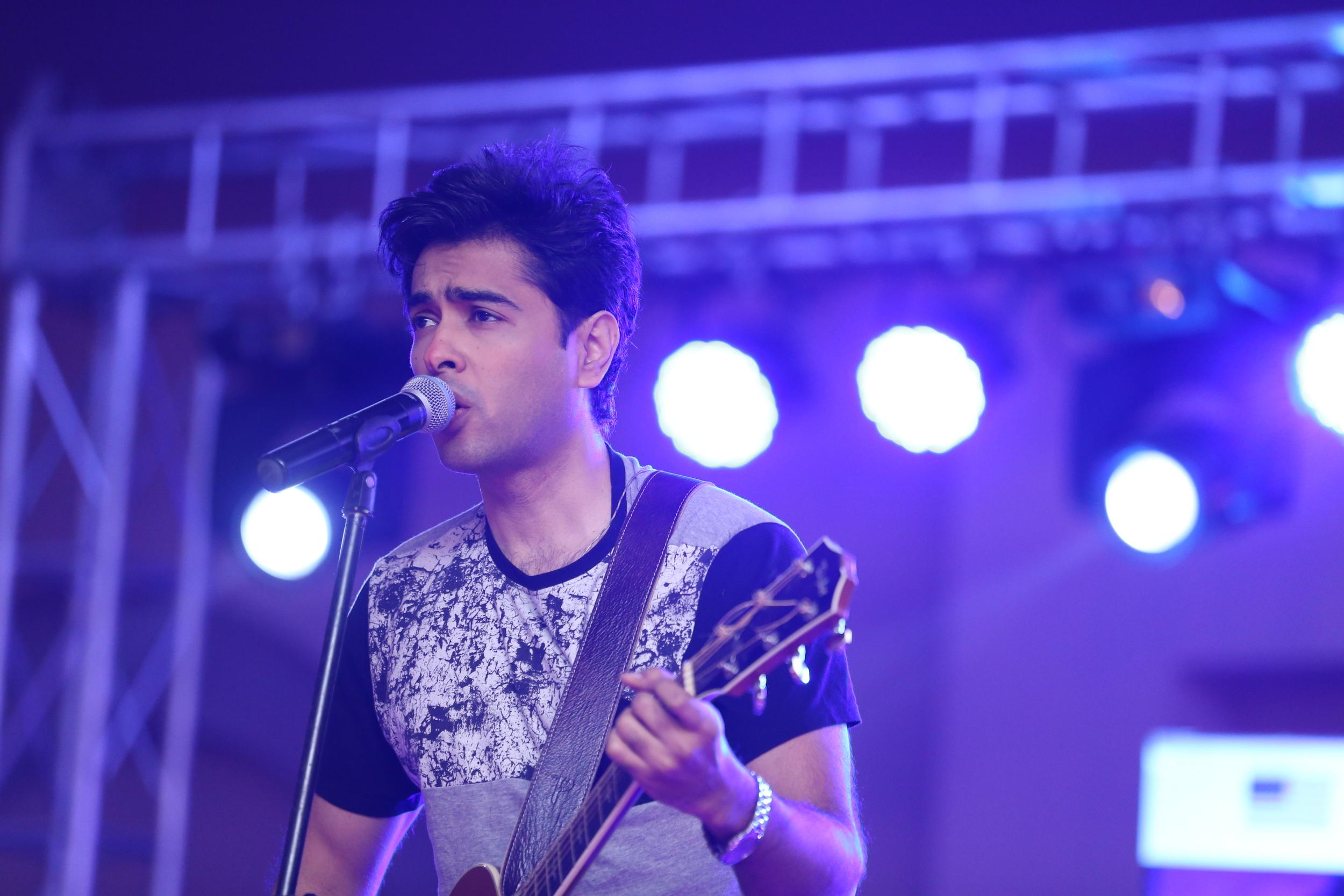 musician performing