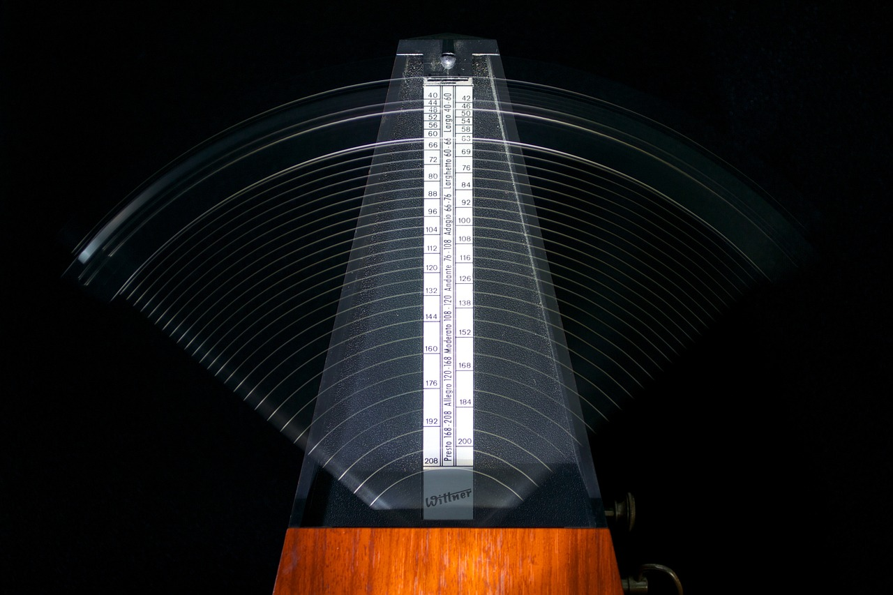 Moving metronome